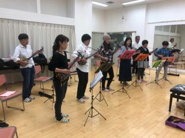 【 教室 】新船橋 沖縄三線教室お稽古
